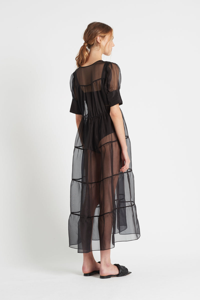 MAELIE PUFF SLEEVE GOWN