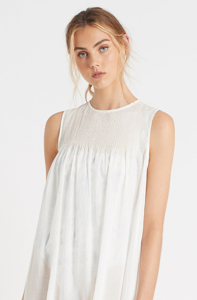 SIR the label ALINA TUNIC DRESS IVORY