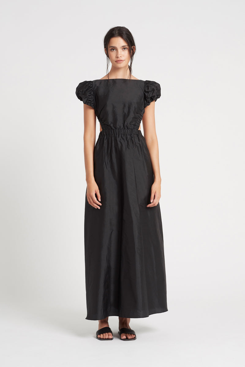 SIR the label VALETTA PUFF SLEEVE GOWN BLACK