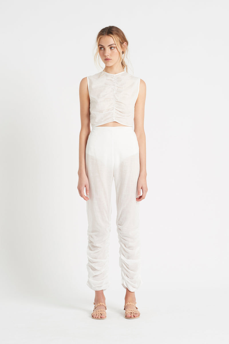 SIR the label ALINA PANT IVORY
