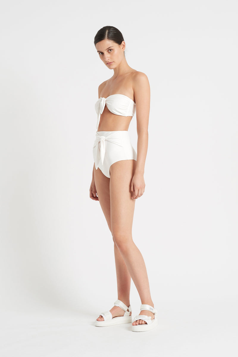 LOUIS TIE HIGH WAISTED BRIEF