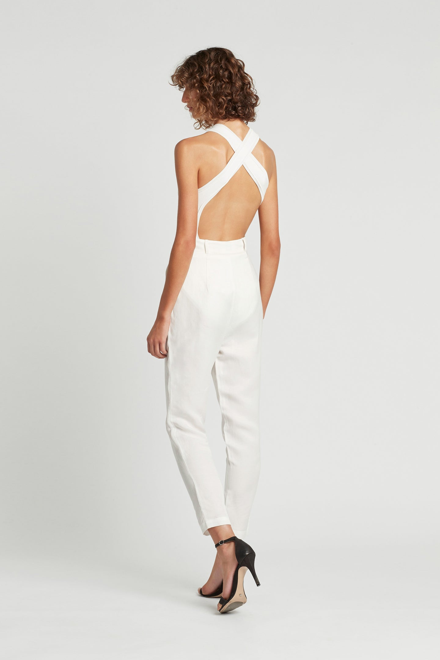 SIR the label ANNIKA BODYSUIT IVORY