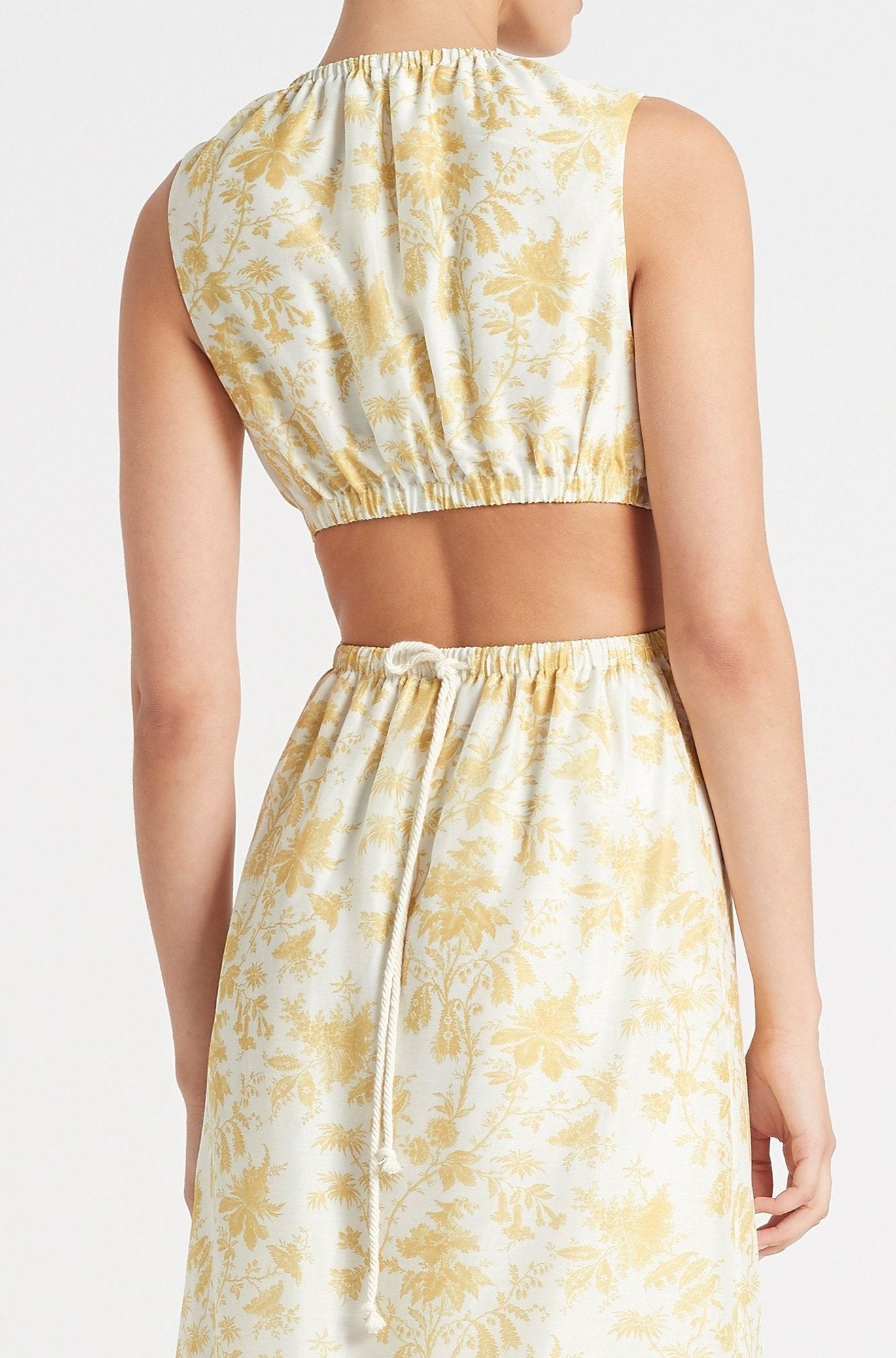 SIR the label CLEMENTINE CUT OUT GOWN IVORY CLEMENTINE PRINT