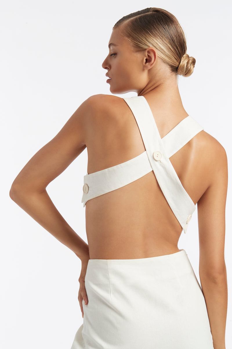 MARTINE CROSS BACK TOP