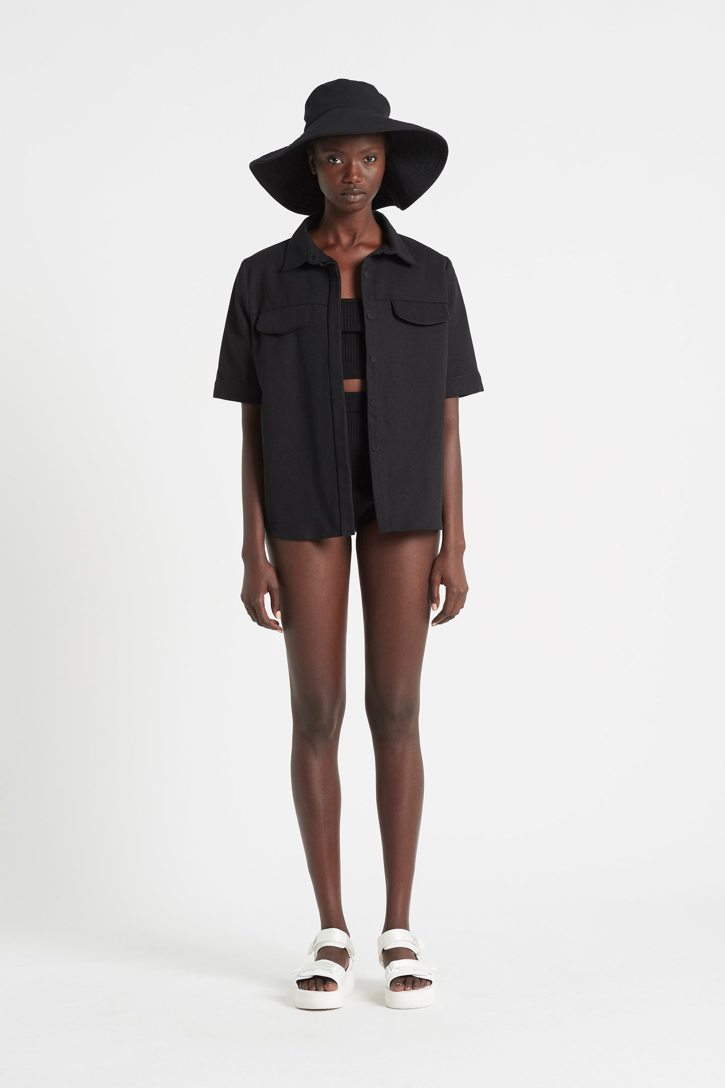SIR the label MAURICE FLOPPY HAT BLACK