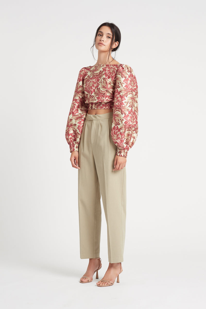 SIR the label ETTA PANT KHAKI