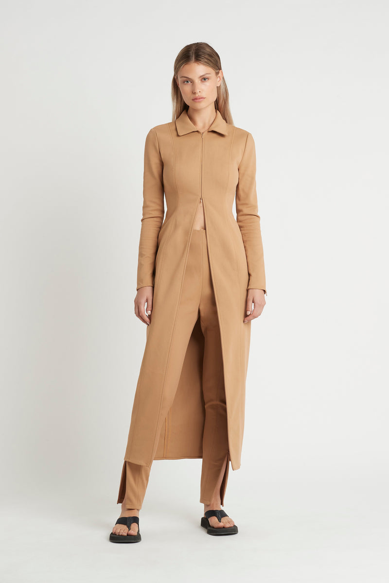 SIR the label ANDRE ZIP PANT CAMEL