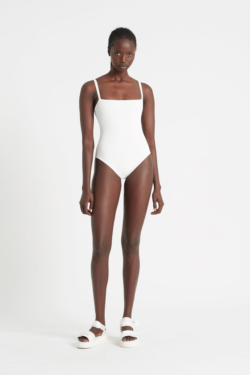 AGNES RIBBED BODYSUIT