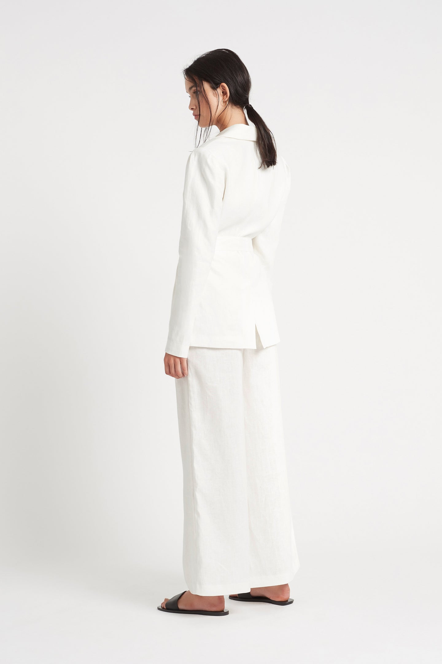 SIR the label PASCALE BLAZER IVORY