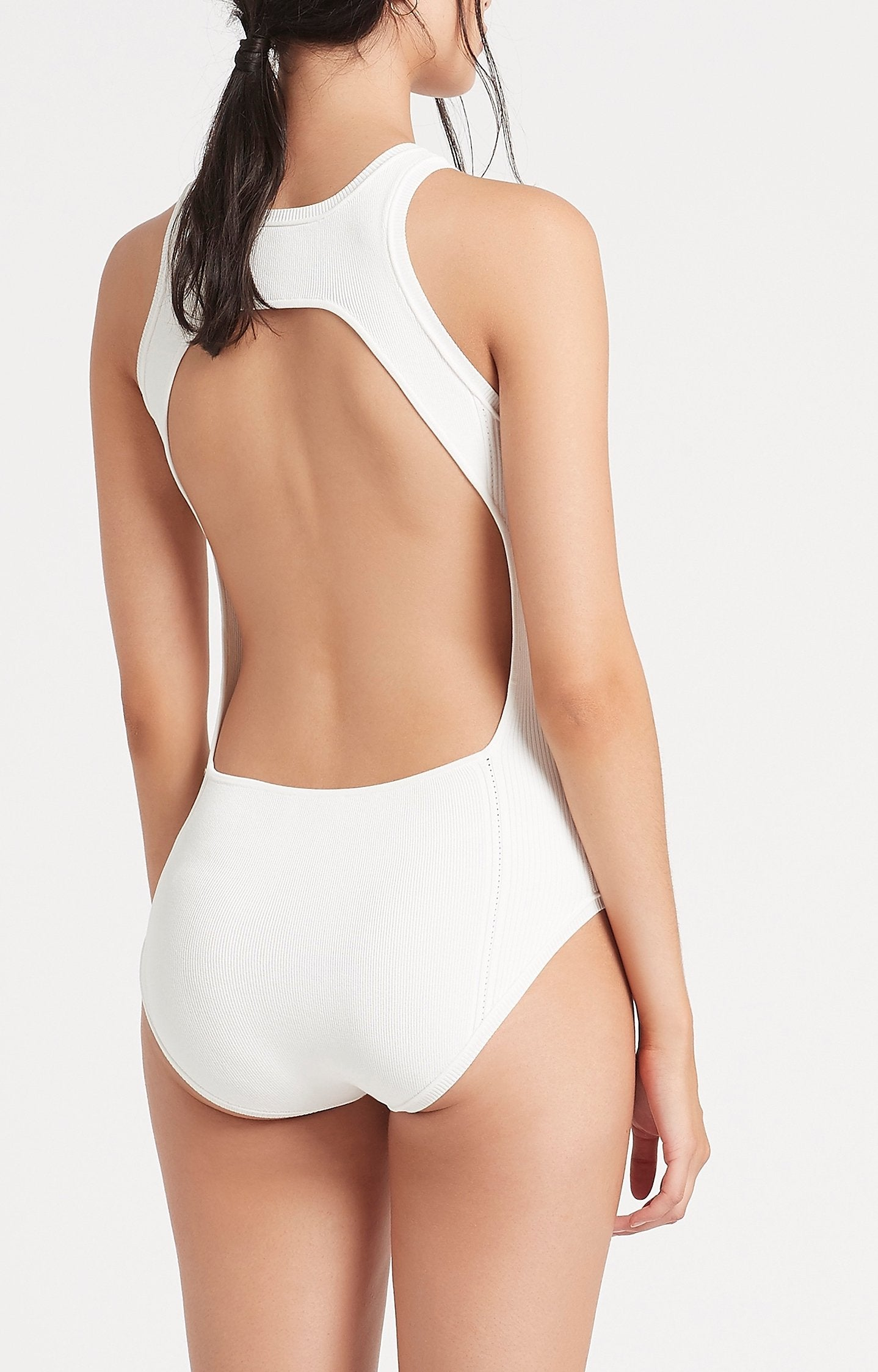 SIR the label INGRID BODYSUIT IVORY