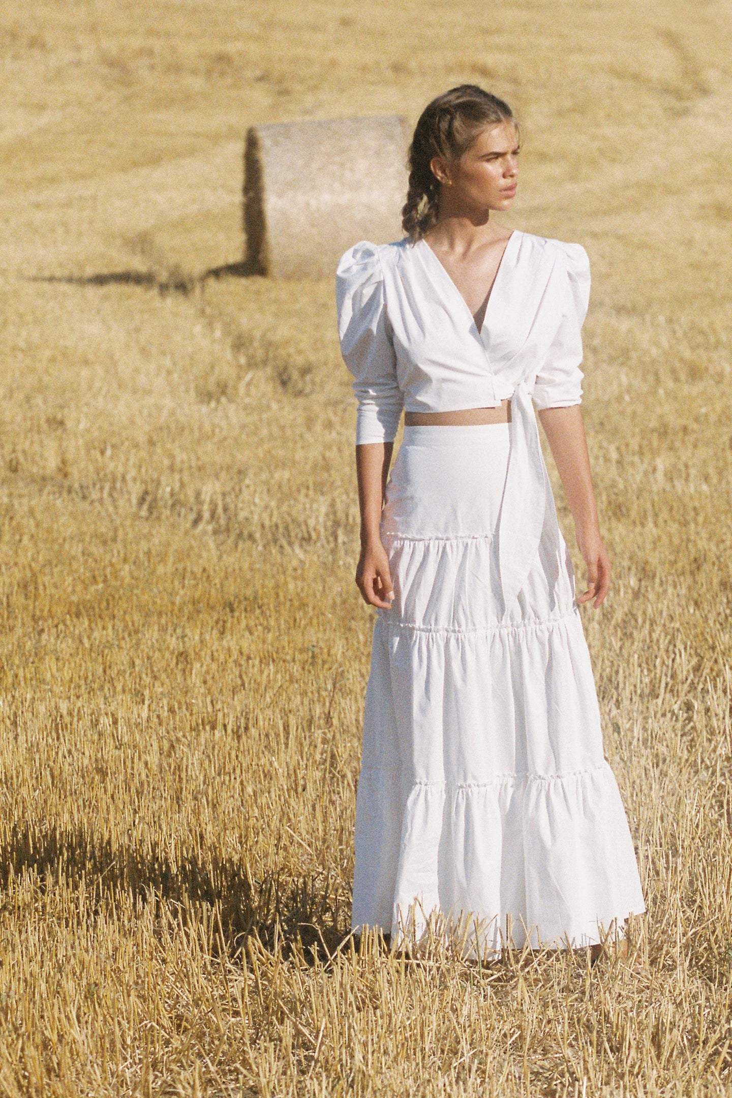 SIR the label BLAIR MAXI SKIRT WHITE