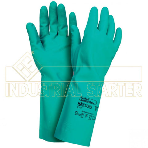 GUANTI GREEN DEFENDER IN NITRILE ART. 07305 TG.XL