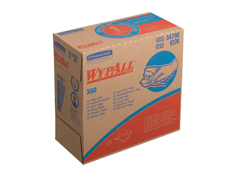 WYPALL X60 POP UP BOX 23X43 CF.126 PANNI ART.8376