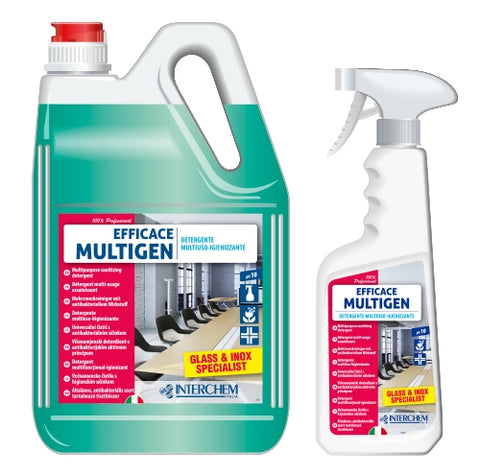 EFFICACE MULTIGEN GLASS & INOX SPECIALIST ML.750
