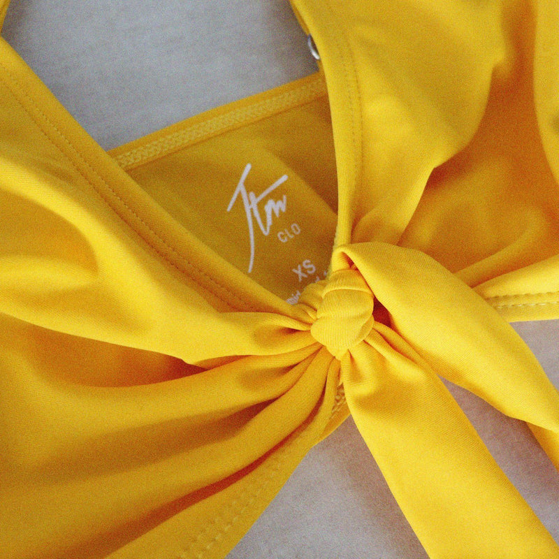 Marilyn Yellow Two Pieces Bikini JTM CLO