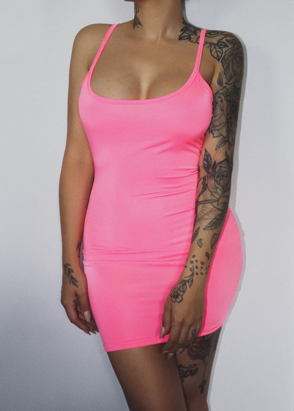 ∼ Mad about you ∼ Pink Mini Dress