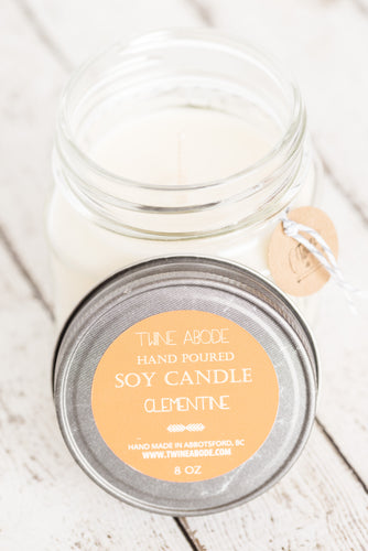 8oz Soy Candle *Jar slightly different then shown in picture*
