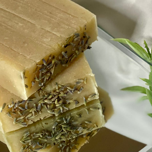Lavender, Honey, and Oats Soap Bar
