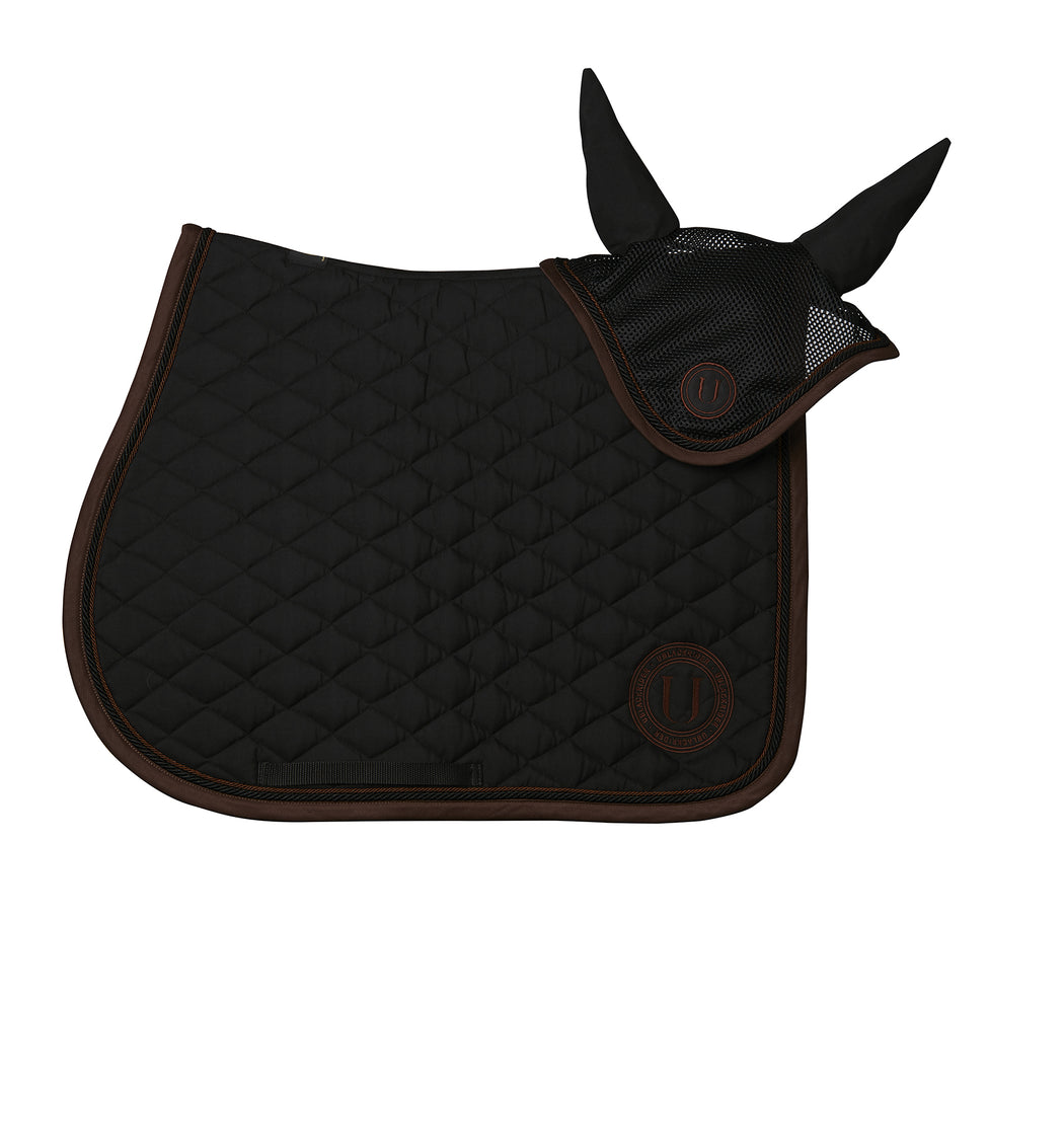 Black Coffe | Set sottosella jumping/dressage e cuffia