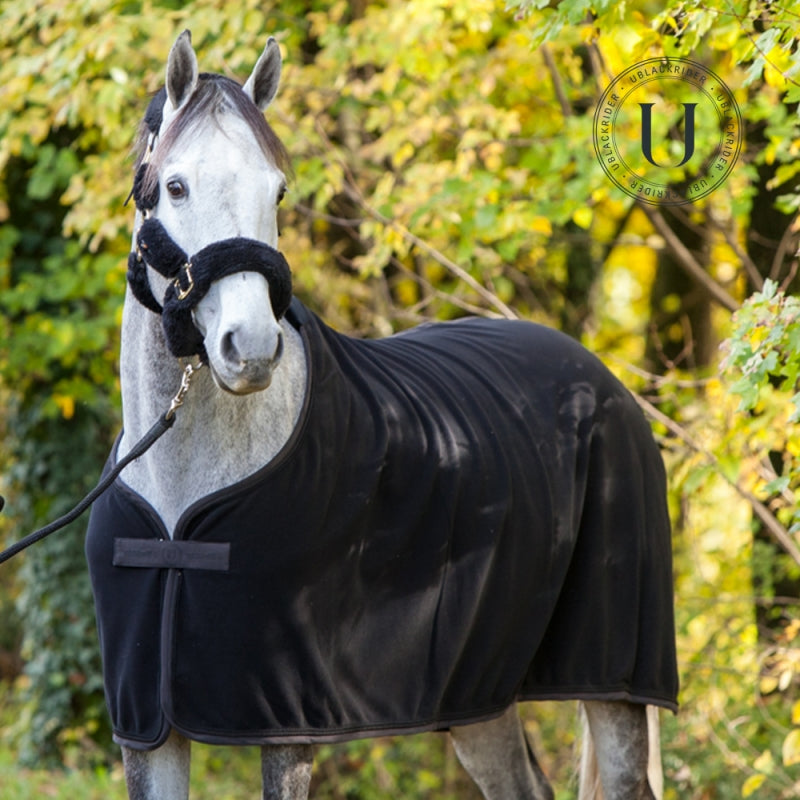 Black to Black | Nero | Coperta in pile da cavallo