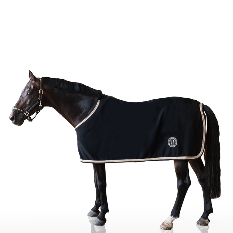 U BLACK - COPERTA PER CAVALLO IN LANA