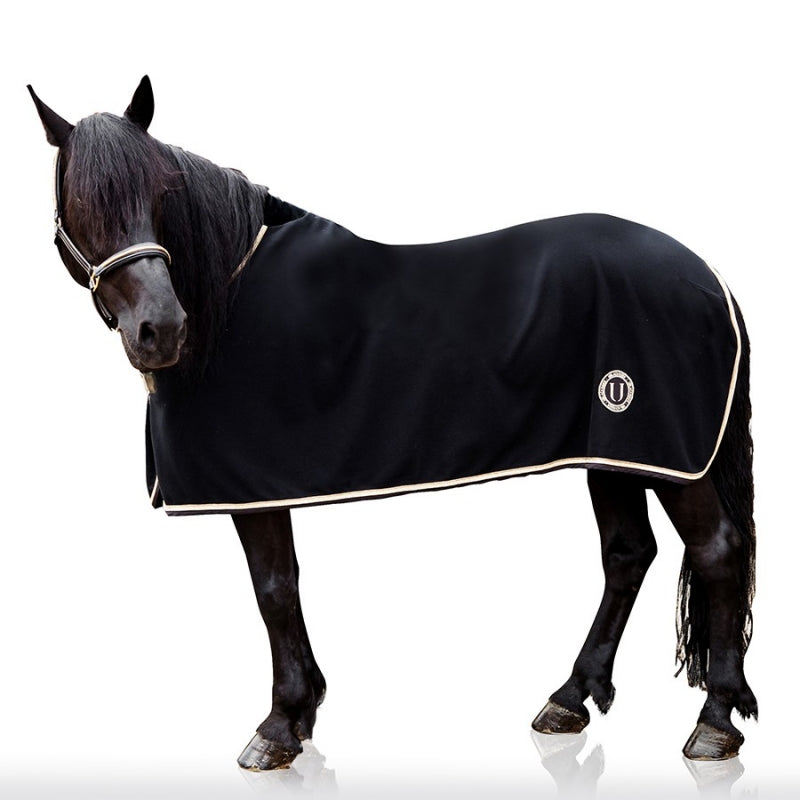 BLACK GOLD - horse rug fleece
