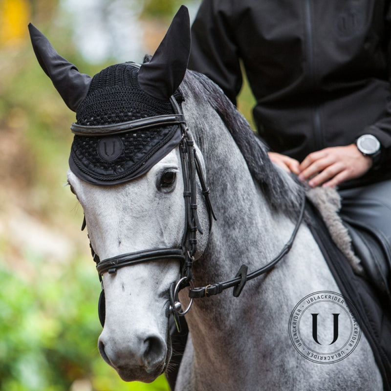 Black to Black | Nero |  Cuffia per cavallo