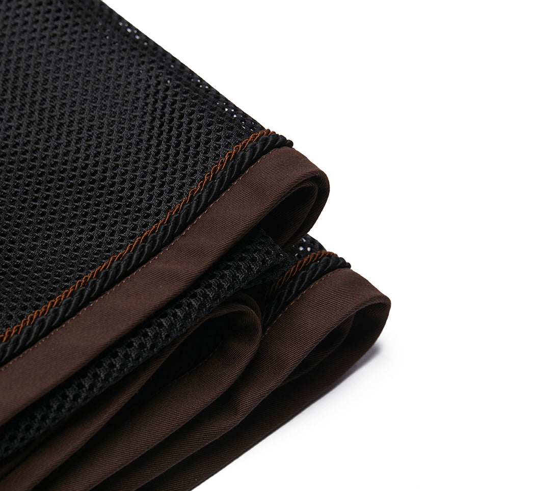 Black Coffe | Coperta in rete da cavallo