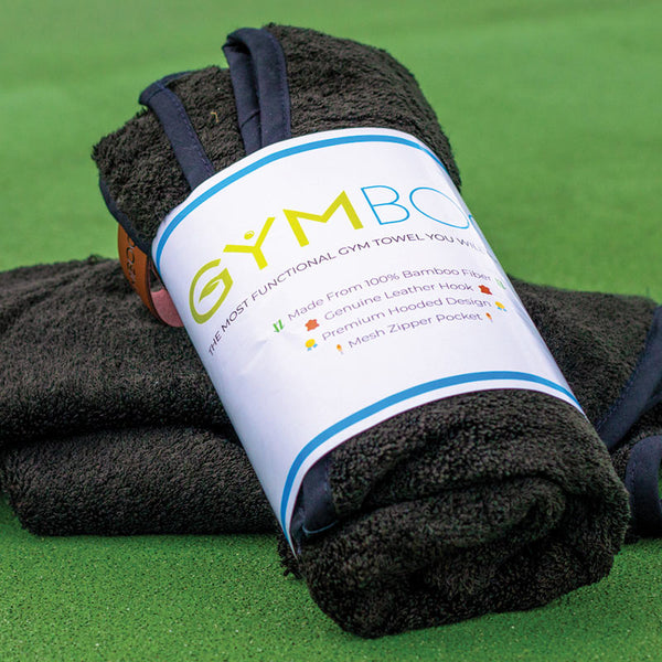 100% Bamboo Gym Towel - GymBoo Lifestyle
