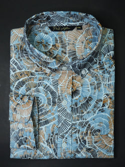 Flurry Print Casual Men's Shirt