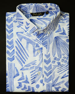 Aztec Print Casual Men's Shirt