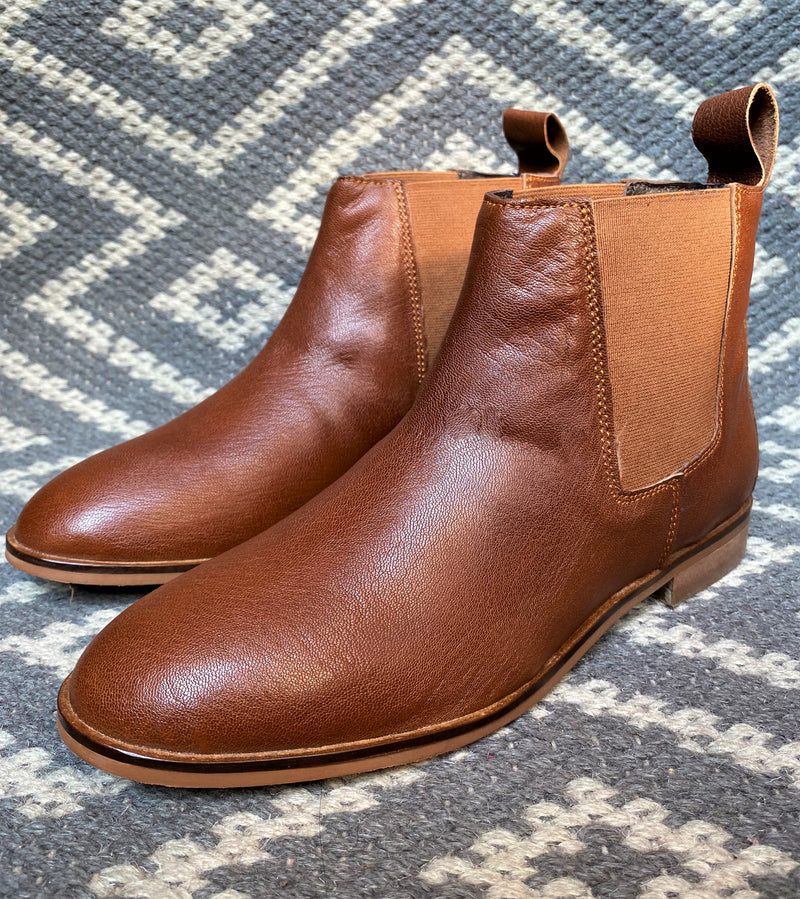Women's Coffee Brown Chelsea Boots