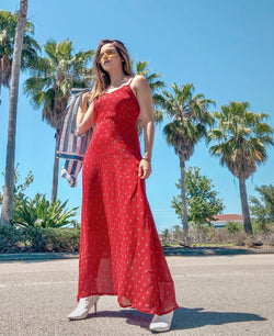 Red Radley Maxi Dress