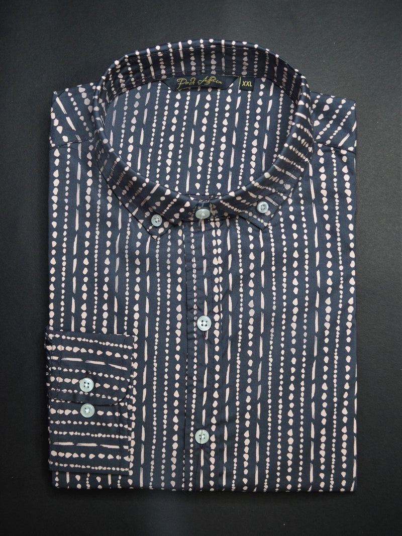 Droplets Print Casual Men's Shirt
