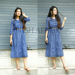 Block Blue Woo Maxi