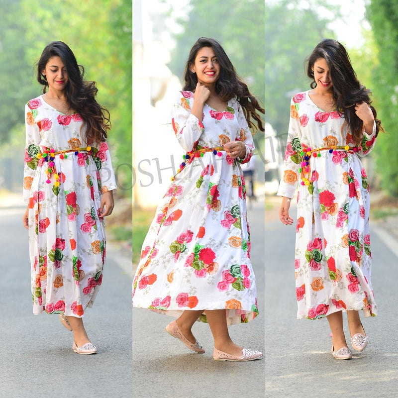 Floral All The Way Maxi