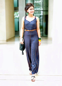 Deep Blue Jumpsuit