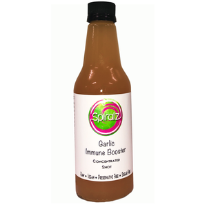 Spiralz Organic Garlic Immune Boosting Concentrated Shots