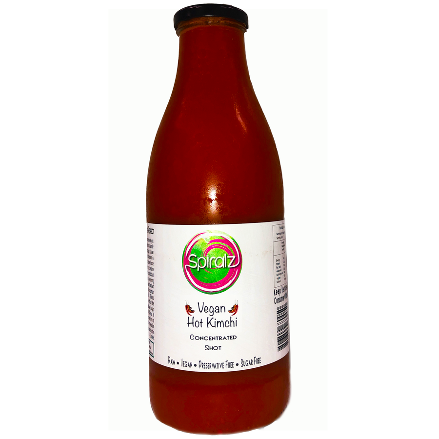 Organic Vegan Hot Kimchi Concentrated Shot