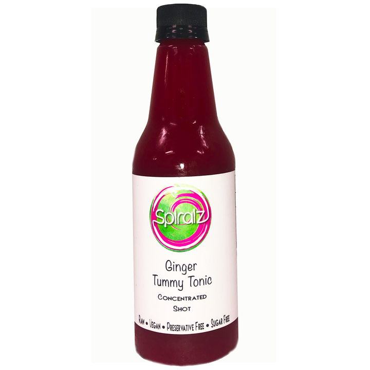 Spiralz Organic Ginger Tummy Tonic Concentrated Shots