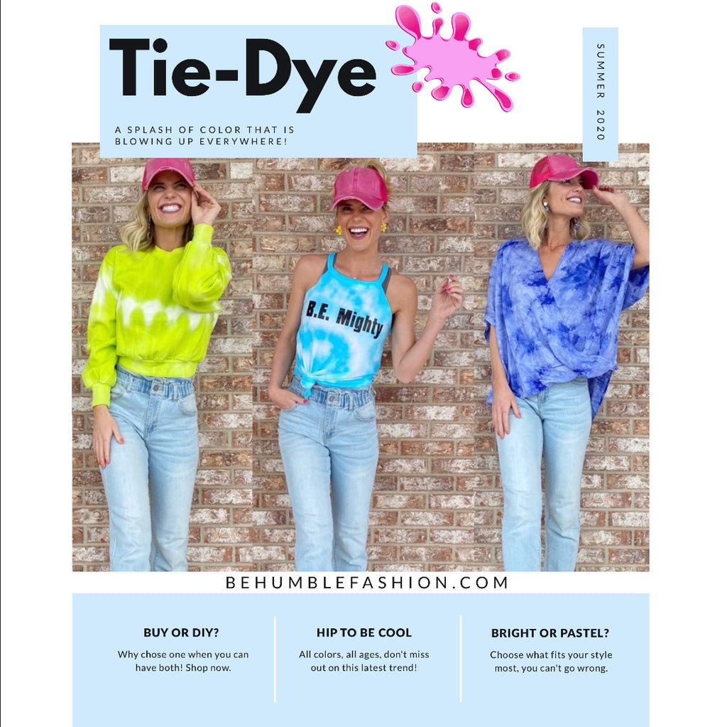 I Spy With My Little Eye... Tie Dye!