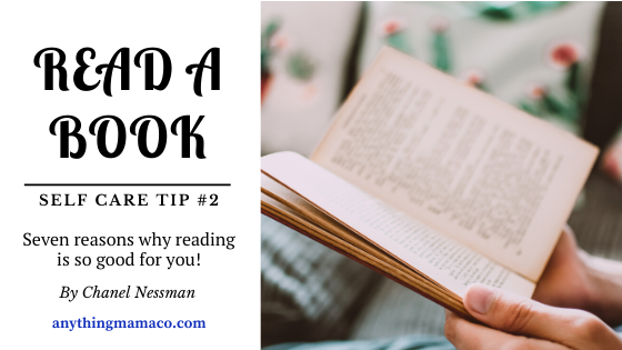 Self Care Tip #2- Read a book!