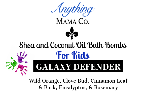 Galaxy Defender Kids Shea & Coconut Oil bath bomb