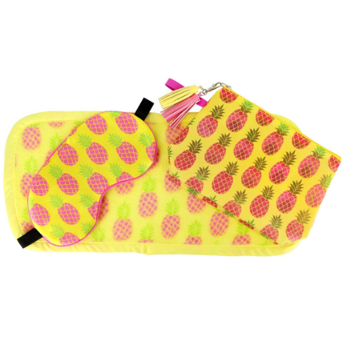 MakeUp Eraser Pineapple 3-Piece Set
