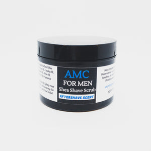 Mens Shea Shave Scrub- Aftershave 8oz.