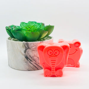 Neon Orange Animal Soap- Unscented