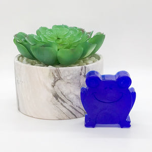Blue Animal Face Soap