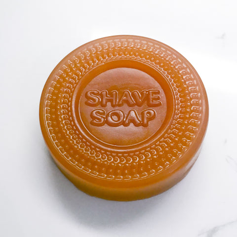 Rose Clay & Grapefruit Shave Soap S/2