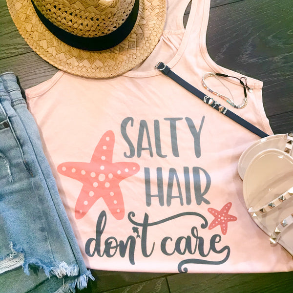 Summer & Salty Hair Tank
