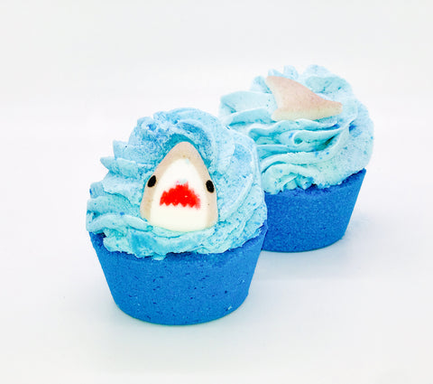 Shark Bite Bath Cake